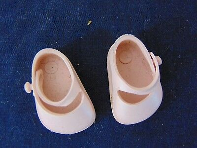 Vintage 1950's Vogue Dolls Inc. Ginnette Pink Shoes Ginny Sister Mary Janes USA