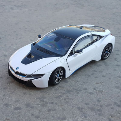 Bmw I8 1 24 Model Cars Toys Collection Gifts Front Steering White
