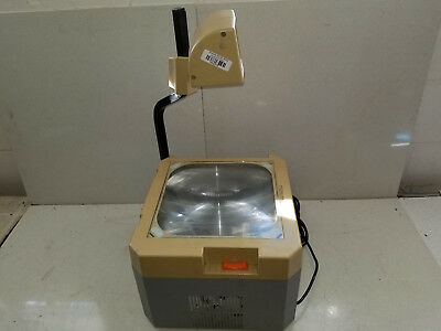Vintage Elmo HP-L11CH Overhead Transparency Projector Art School Office TESTED