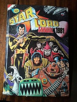 Starlord Annual 1981 in Good Condition