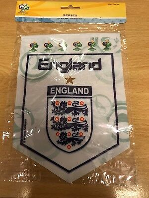 England World Cup Germany 2006 pennant size 21 cm,16 cm in a package,brand new