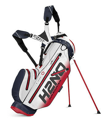 Sun Mountain 2017 H2NO Lite Stand Bag - Navy/White/Red - BRAND NEW!