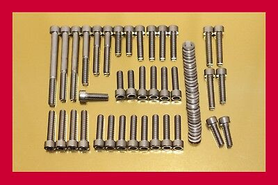 Stainless Steel Engine Bolt Kit Suzuki Bandit GSF 1200