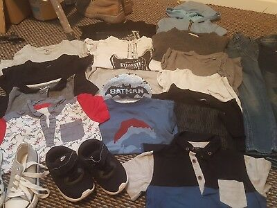boys bundle 4-5 years 18 items incl footwear next h&m great used condition