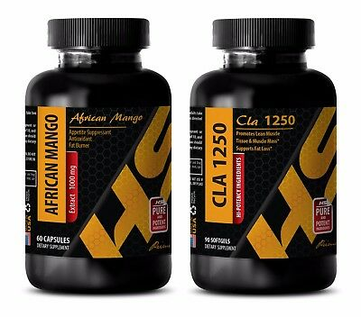 Fat loss and muscle gain - CLA – AFRICAN MANGO COMBO - african mango appetite