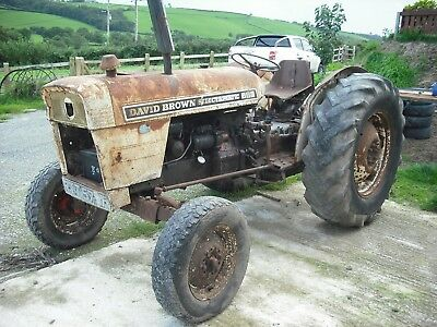 Barn find David brown 880