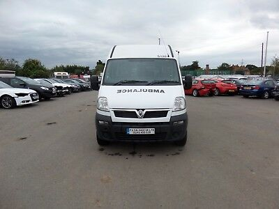 2010 Vauxhall Movano 3500 Cdti Lwb Ambulance Damaged Repairable Salvage No Vat!!