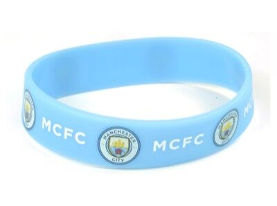 MANCHESTER CITY Silicone WRISTBAND Licensed Official Merchandise