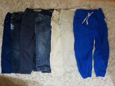 7pcs 2-3years old 3-4years old jeans trousers boys denim co h&m