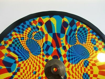 Op art oil wheel  by liquidlights fits optikinetics projectors