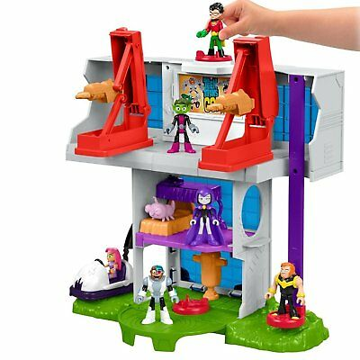 Fisher Price Imaginext Teen Titans Go! Tower Playset New in Box