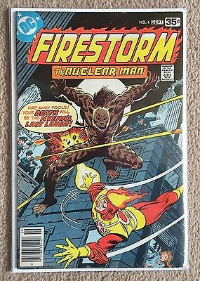 Firestorm # 4 -  DC Comics Rare Vol 1 1978 – Cents