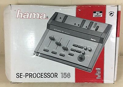 Hama SE Processor 156 - vintage video editing hardware - boxed