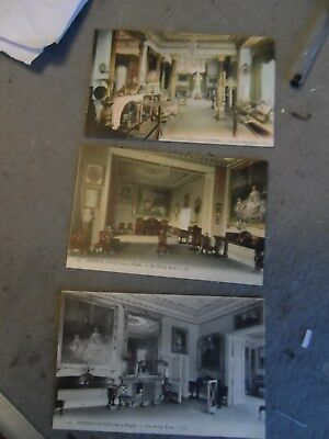 3 osbourne house  isle of wight  postcards iow  L.L louis levy no.  11   13   14