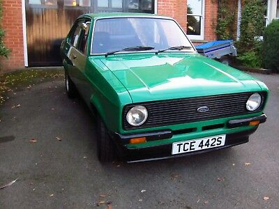 Ford Escort Mk2 - 1978, 1600 GT 711M Crossflow with twin 40 DCOE carbs.