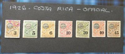 1926 Costa Rica Mint/Used//hinged stamps-Official- No F-122