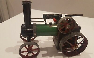 Mamod Steam Traction Engine, Spares or repair, sold as seen