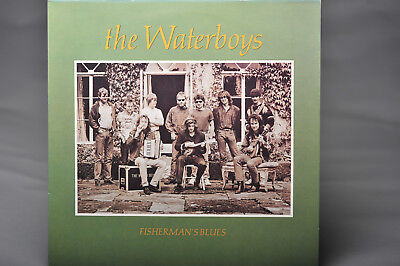 THE WATERBOYS Fisherman's Blues - EX/EX Condition 1988 Ensign LP & Inner Sleeve