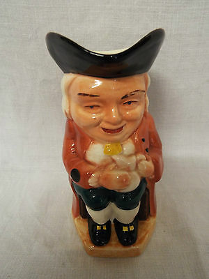 Vintage Hand Painted Burlington Ware Toby Jug The Boozer