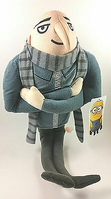 "New Gru 16"" Plush Doll Despicable Me 2 Villain Stuffed Toy Plush Tv Cartoon"