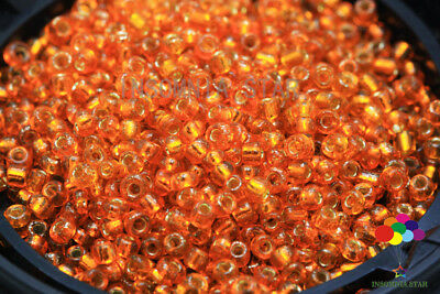 New 2mm 1000 Pcs Round Dyeing Hearts Gilding Glass Loose seed Spacer Beads A-29