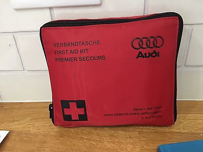 Audi First Aid Kit Sealed A1 A3 A4 Tt Ttrs Rs4 R8 A5 S5 Rs6 All Models