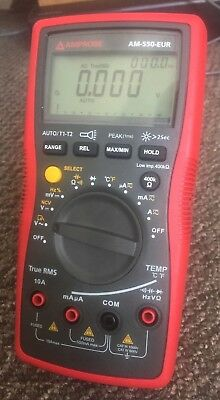 (OFFERS WELCOME) Amprobe AM-550-EUR Digital Multimeter + Accessories