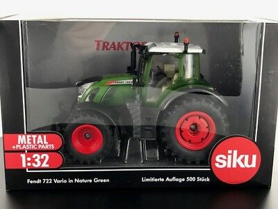3285 Limited Edition Siku Fendt 722 Nature Green tractor BOXED 1:32 scale
