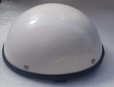 Novelty Motorcycle Helmets frenchy's White Discontinued model 1999 Made in USA