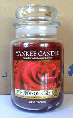 Yankee Candle Raindrops On Roses 22 Oz Jar Favorite Things Sound Of Music Vhtf