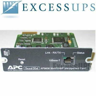 Apc Ap9606 Web/snmp Management Card With 1 Year Replacement Warranty!