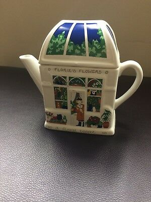 Wade Flower Shop Teapot, collectable, gift, Christmas present