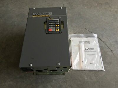 New! Baldor Adjustable Speed Drive Id15H420-E0 See Pic #3 For All Specs