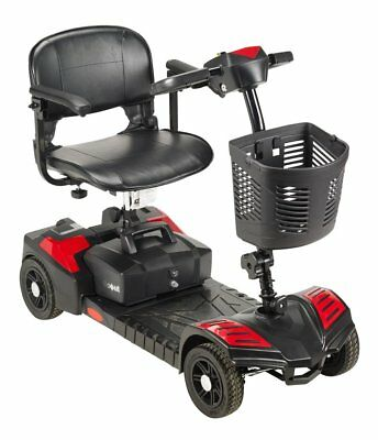 NEW Drive Medical model # SFSCOUT4  Spitfire Scout 4 Wheel Travel Power Scooter