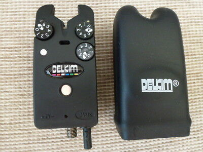 Delkim Txi Plus Bite Alarm with White LEDs - Carp Gear Setup 1 OF 3