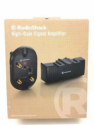 Radioshack High-Gain TV HDTV FM VHF UHF Signal Amplifier 1500526