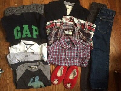Boys Lot Of Great Mix & Match Items Size: 4/5 & 5t