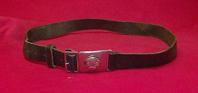 Boy Scout belt with buckle