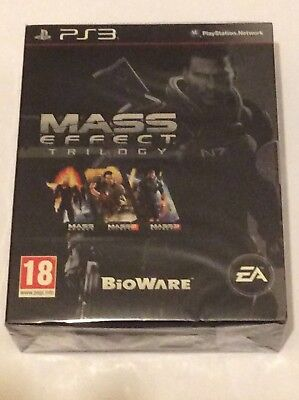 Mass Effect Trilogy PAL PS3 (Brand New & Sealed)