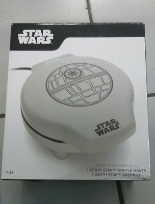 Waffle Maker Death Star Wars Movie Non-Stick Plates Cooking Kitchen Collections