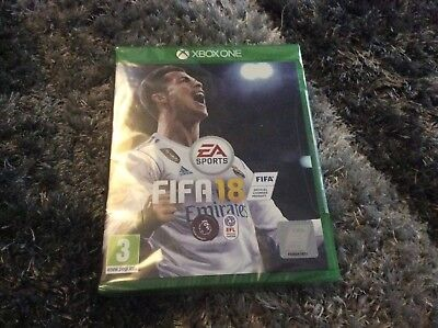 Fifa 18 xbox1 NEW SEALED ( Fast Despatch )