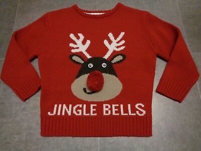 Boys Christmas Jumper Size 5-6 Years Height 116 cm