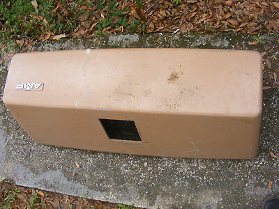Vintage AMF Bowling Alley AMF FIBERGLASS COVER / HOOD W/ VENT Holes 38 x 14 x 12
