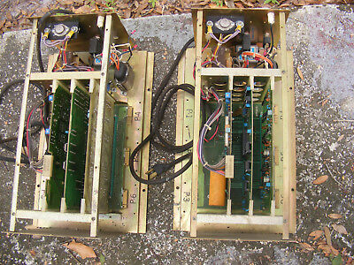 2 Vintage AMF Bowling Alley Chassis Control & Signal Circuits Class 2