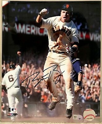 Buster Posey signed 8x10 photo auto COA MLB Authenticated autographed SF Giants