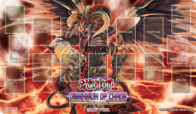 """YuGiOh! Dimension of Chaos: """"Scarlight Red Dragon Archfiend"""" Playmat"""
