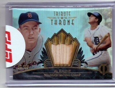2014 Topps Tribute To The Throne Al Kaline #02/99!!!