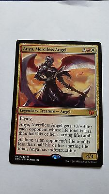 1x ANYA, MERCILESS ANGEL - Mythic - Commander - MTG - NM - Magic the Gathering