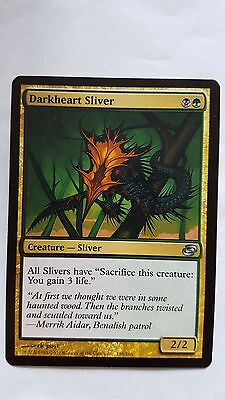 1x DARKHEART SLIVER - Rare - Planar Chaos - MTG - NM - Magic the Gathering