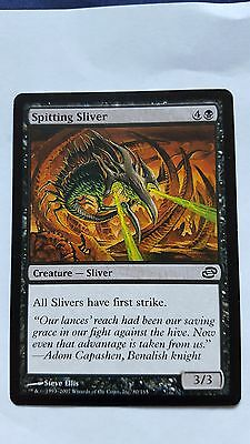 2x SPITTING SLIVER - Rare - Planar Chaos - MTG - NM - Magic the Gatherin